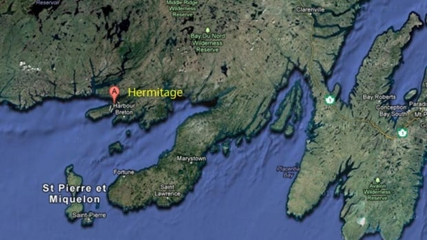 Hermitage, a community of approximately 450, is located on Newfoundland's south coast.