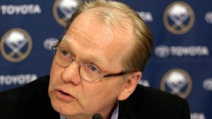 Former Buffalo Sabres general manager Darcy Regier has found a new home in the desert.