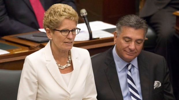 Premier Kathleen Wynne and Finance Minister Charles Sousa are forging ahead with the promised new Ontario Retirement Pension Plan, which will begin on Jan. 1, 2017.