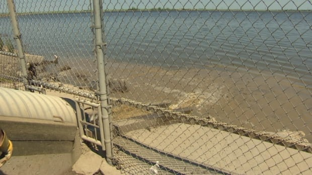 Untreated and partially-treated water is being bypassed into Wascana Creek.
