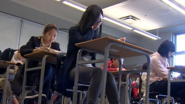 Class sizes at Calgary's public schools are larger than recommended and keep growing in size and the complexity of student needs.