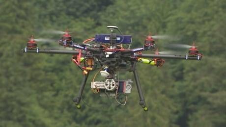 Drone - UAV - B.C. - unmanned aerial vehicle