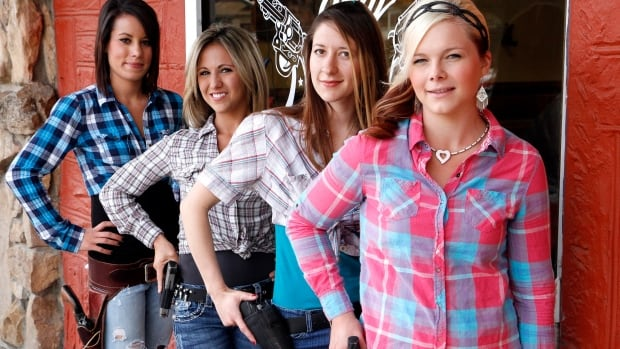 Shooters Grill, a family-run eatery in the town of Rifle, Colo., encourages customers to carry open weapons into the establishment and all the waitresses carry loaded handguns, even shotguns, while working.