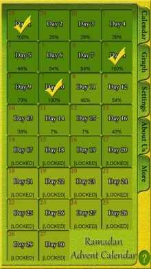 Ramadan Advent Calendar App