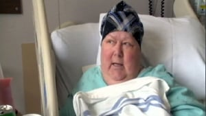 Cancer patient Gail Godin wants Popsicles at Chaleur Regional Hospital