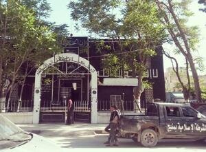 Scene from Manbij, Syria