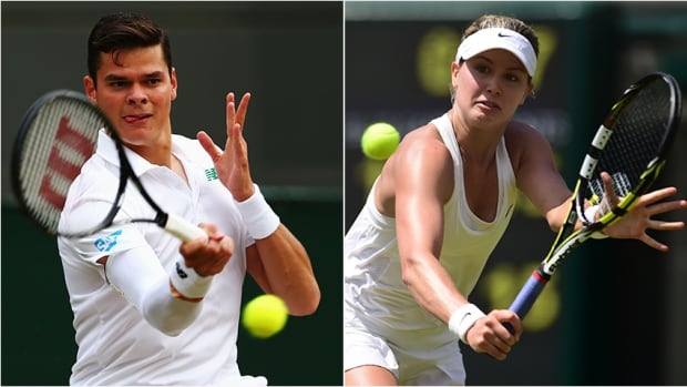 Canadian tennis stars Eugenie Bouchard, right, and Milos Raonic are poised to see lucrative endorsement deals after their performances in Wimbledon.