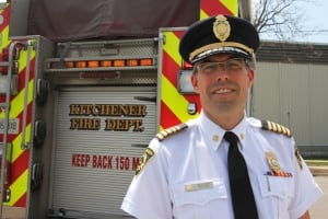 Fire Chief Tim Beckett