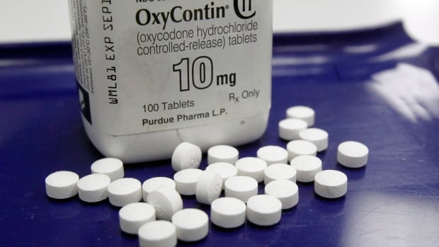 Canada exceeds all other countries except for the U.S. in its per-capita consumption of opioids such as OxyContin and codeine.