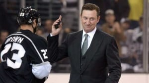 Wayne Gretzky, seen during the Stanley Cup Final, has been out of hockey since his involvement with the Phoenix Coyotes.