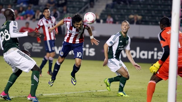 Chivas USA forward Erick Torres, seen heading a shot in a previous game, is second in the league in goals.