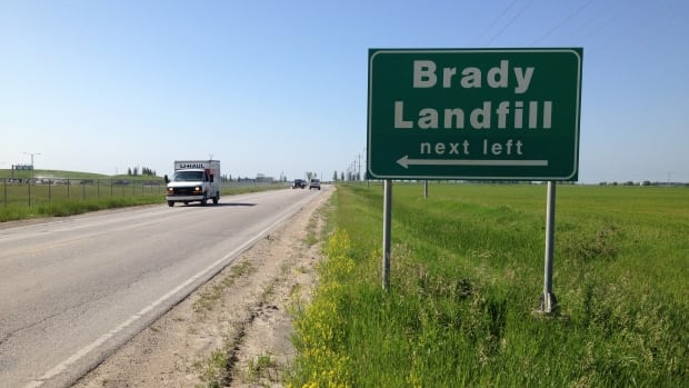 Winnipeg fire crews were called to the municipal landfill on Brady Road just before 5 a.m. Saturday.