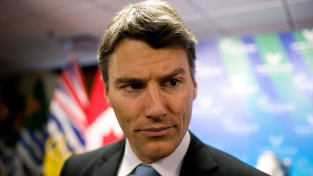 Vancouver Mayor Gregor Robertson, shown in a December 2013 photo, confirmed on July 5, 2014 that he and his wife are splitting up.