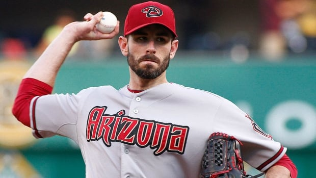 Pitcher Brandon McCarthy was traded by the Arizona Diamondbacks to the New York Yankees on Sunday. McCarthy, who turns 31 on Monday, was 3-10 with a 5.01 ERA with