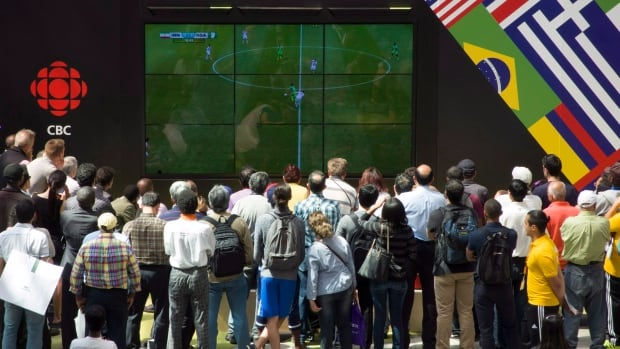 Canadians have been gathering at viewing parties across the country to cheer on their favourite teams during the FIFA World Cup in Brazil. With a nation full of immigrants, everybody has a team to cheer for, writes Nigel Reed.