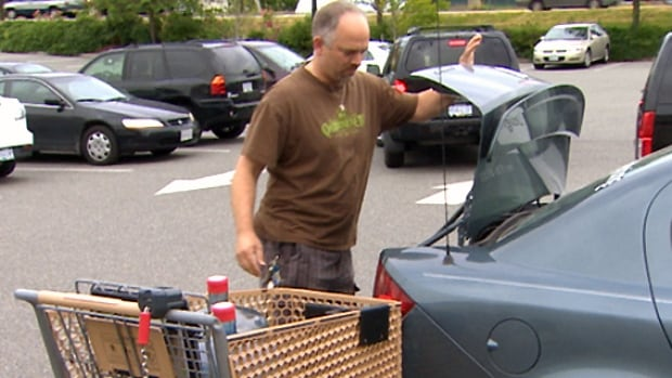 Aldergrove residents had to take the time to go shopping for bottled water this weekend.