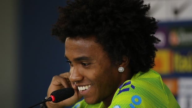 Brazil's Willian could take Neymar's place for the World Cup semifinal against Germany, Tuesday in Belo Horizonte.