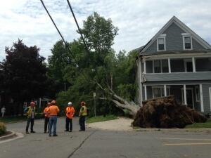 Fredericton crews