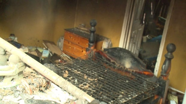 The fire at a home in the west end of St. John's on Sunday appears to have started in a basement bedroom.