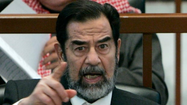 Foreign affairs expert Robert Kaplan writes that the total number of Iraqi leader Saddam Hussein's victims, depending upon how you count, may reach upwards of a million.