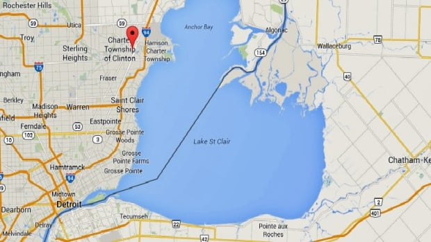 One of the men went missing near the Clinton River, northeast of Detroit.