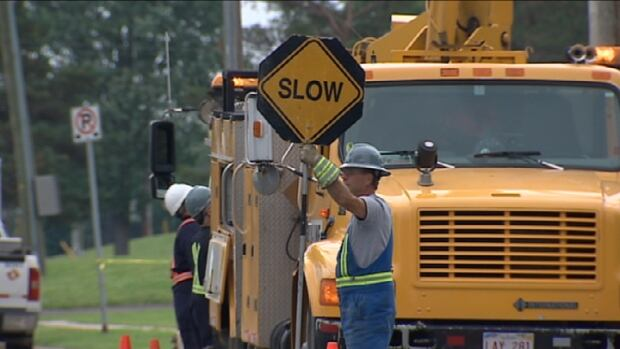 NB Power has been reconnecting electricity to customers across New Brunswick since Saturday when post-tropical storm Arthur hit.