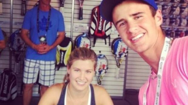Jason Boudreau got the chance to meet rising Canadian tennis star Eugenie Bouchard at the Rexall Centre in Toronto last summer.