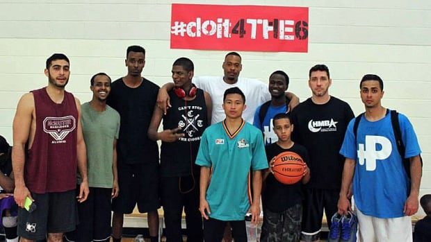 Members of the Hamilton Muslim Basketball Association fasted through almost six basketball games in a day at the end of June.
