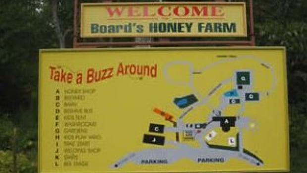 Board's Honey Farm in Restoule has been producing honey for 40 years.
