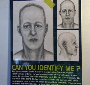 'River man' mystery