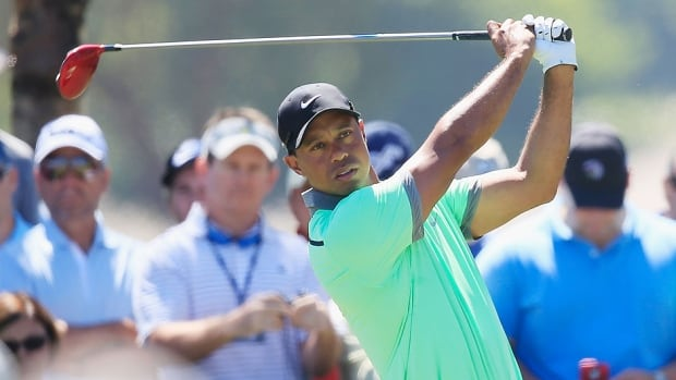 Tiger Woods, pictured here, has gone through four swing changes with three coaches