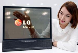 South Korea LG semi-transparent Display