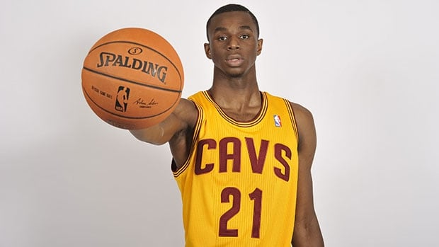 Top draft pick Andrew Wiggins is already being mentioned in trade rumours.