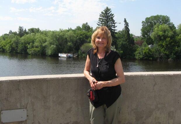 Marilyne Allen, visitor to Regina skpic