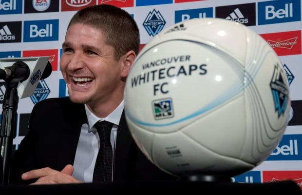 SOC MLS Whitecaps Coach 20131216