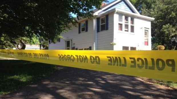 Charlottetown police say a 45-year-old man was stabbed to death at this house on Brows Lane.