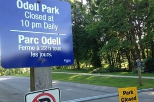 Fredericton's Odell Park remains closed one week after storm Arthur