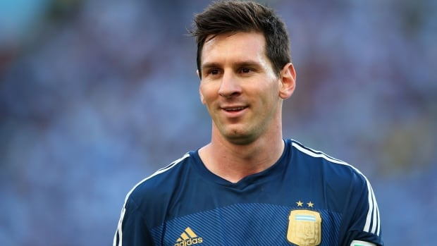 Lionel Messi Of Argentina Is Named The Golden Ball Winner At The FIFA