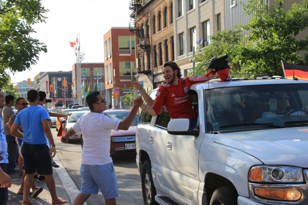 Kitchener Germany World Cup King Street