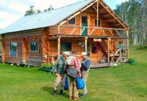 Euchiniko Lakes Ranch lodge