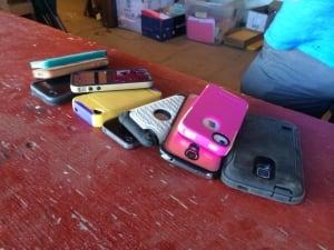 Phones returned at Craven 2014