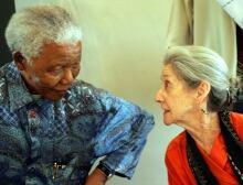 Nelson Mandela and Nadine Gordimer