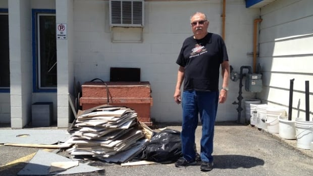 Lockerby Legion Branch 564 president Chris Nadjiwan says the Sudbury building, located in the city's south end, had 30 separate leaks in the roof over the winter.