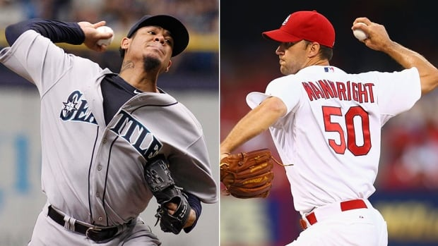 Seattle Mariners pitcher Felix Hernandez will take on Adam Wainwright of the St. Louis Cardinals to star the MLB All-Star Game on Tuesday.