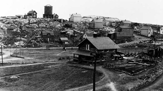 The community of Creighton, seen here in 1908, is now a ghost town. Former residents of the area will gather this weekend for a reunion.
