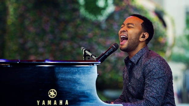 Crooner John Legend performs Friday at the Molson Amphitheatre.