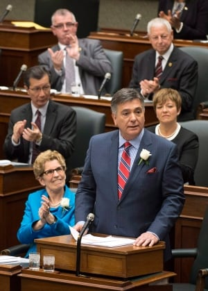 Finance Minister Charles Sousa tables budget on May 1