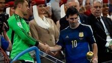 Diego Maradona: Lionel Messi didn't deserve Golden Ball