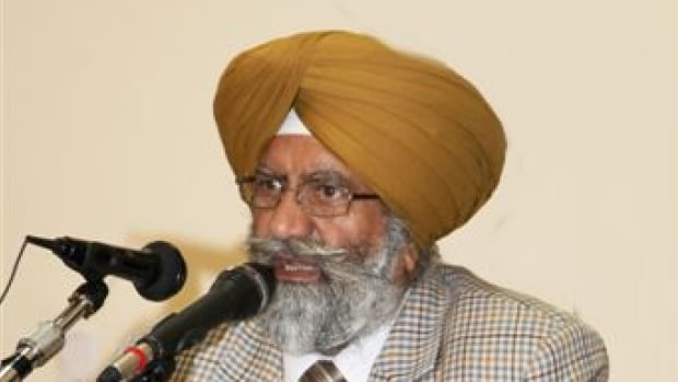 Baldev Singh Kalsi was Brookside Temple president in Surrey, B.C., but has been removed from the position. He's now charged with second-degree murder after his wife was taken off life support.