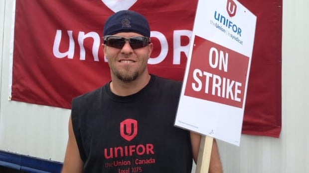 John Sturdivant has worked at Bombardier for more than two years. The union says the company wants to cut post-retirement benefits to anyone with less than five years of experience. Sturdivant says that's unacceptable.